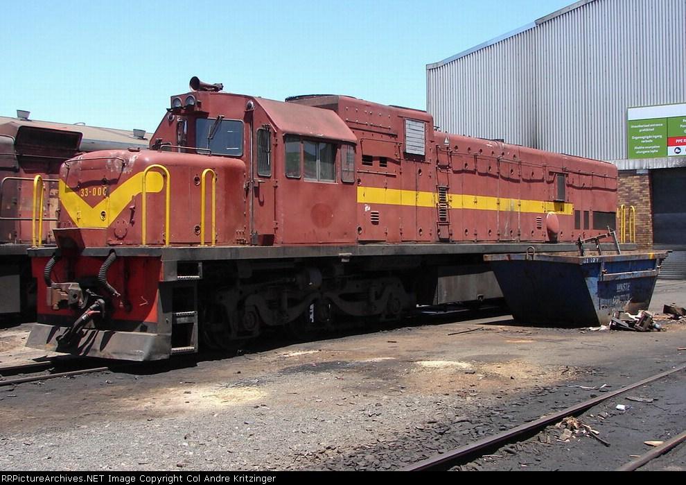 SAR Class 33-000 33-006