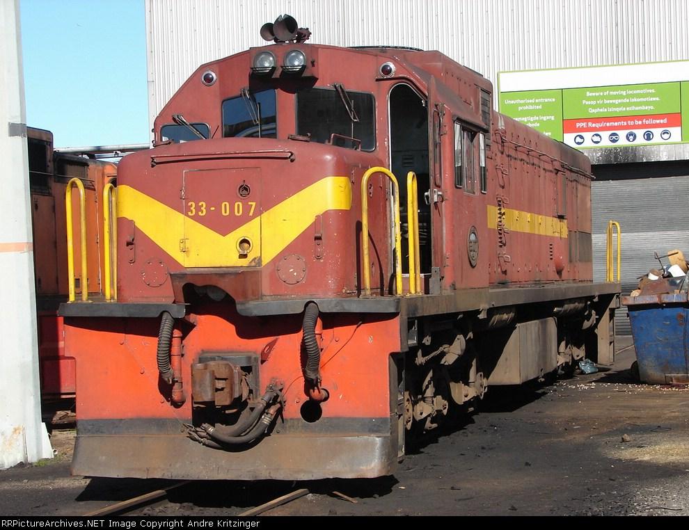 SAR Class 33-000 33-007