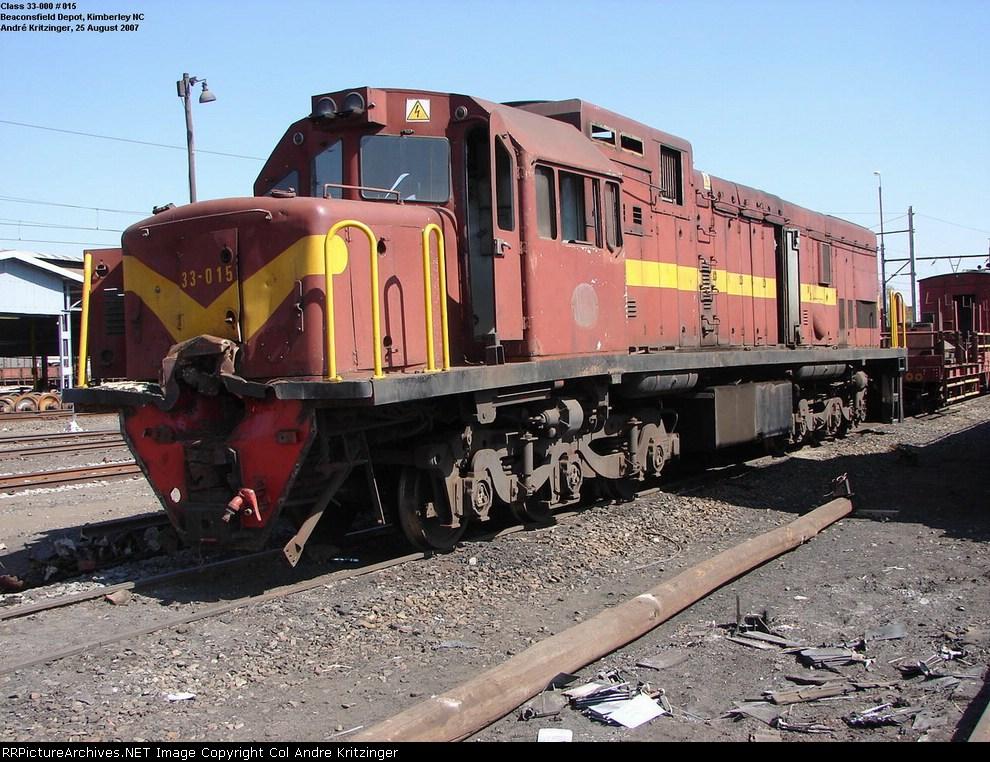 SAR Class 33-000 33-015