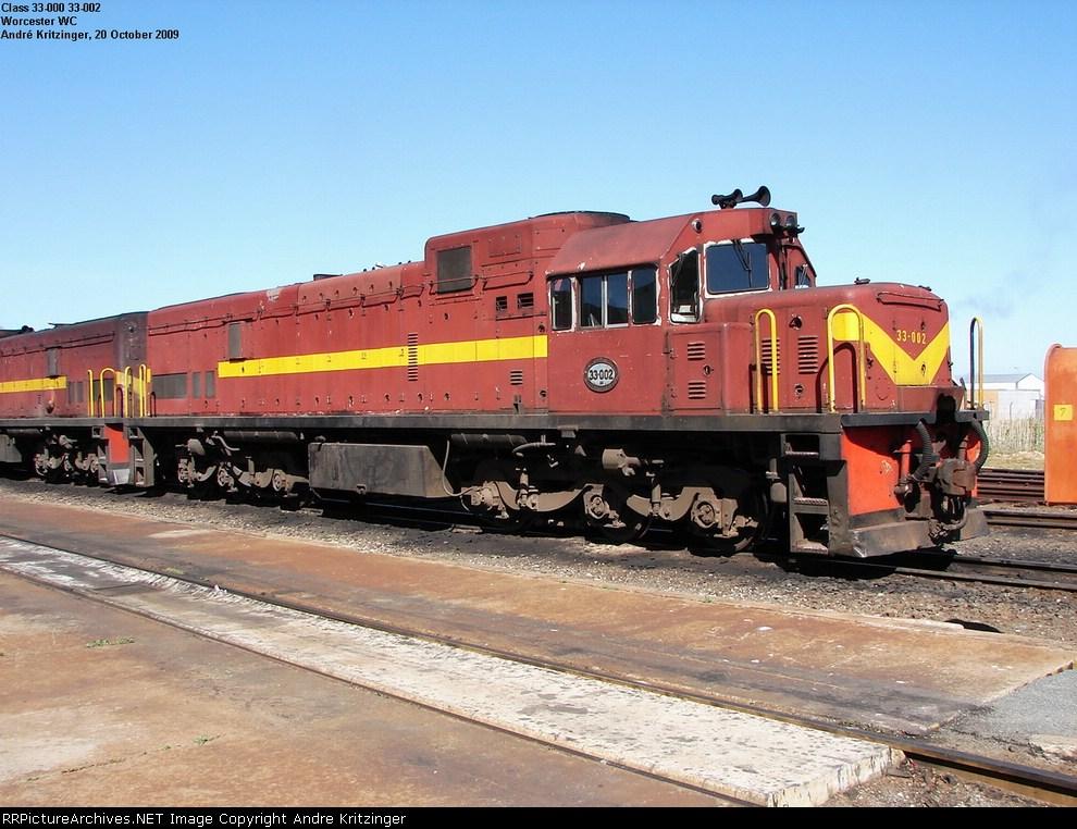 SAR Class 33-000 33-002