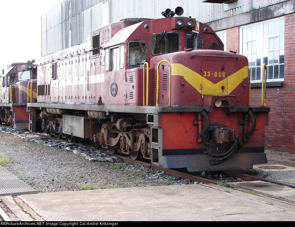 SAR Class 33-000 33-008