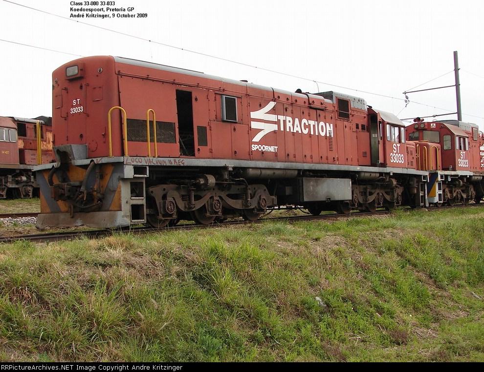 SAR Class 33-000 33-033
