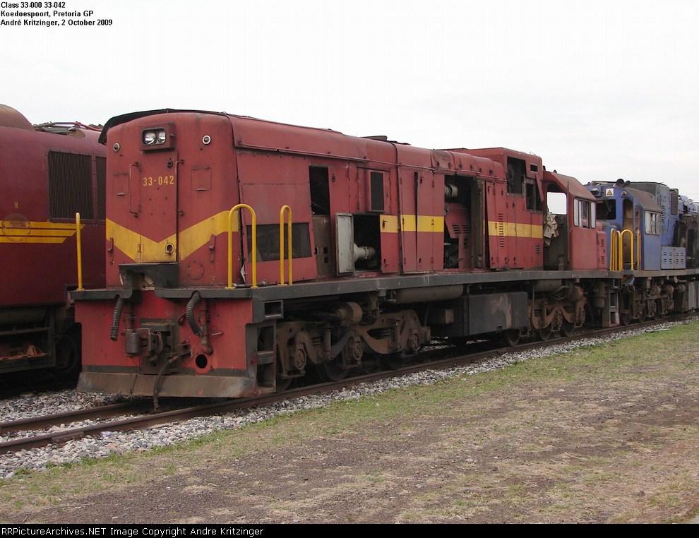 SAR Class 33-000 33-042