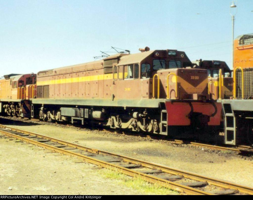 SAR Class 33-200 33-203