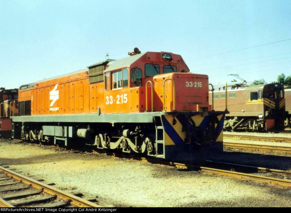 SAR Class 33-200 33-215