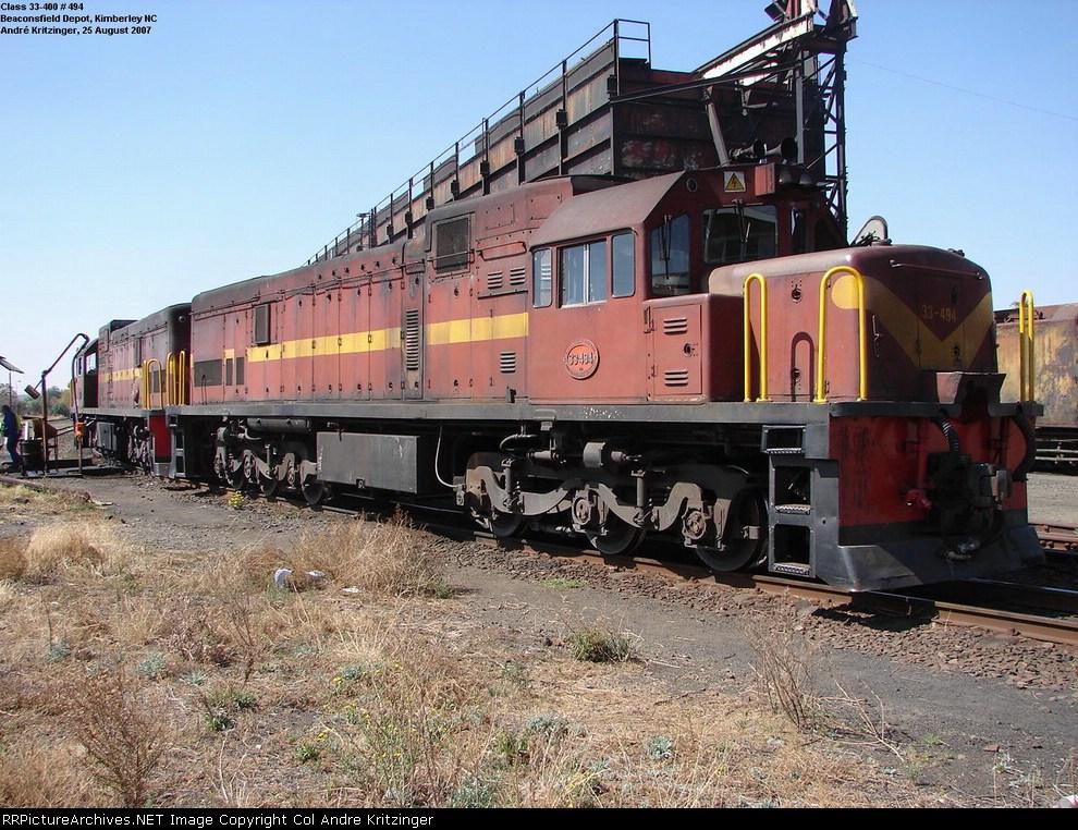 SAR Class 33-400 33-494