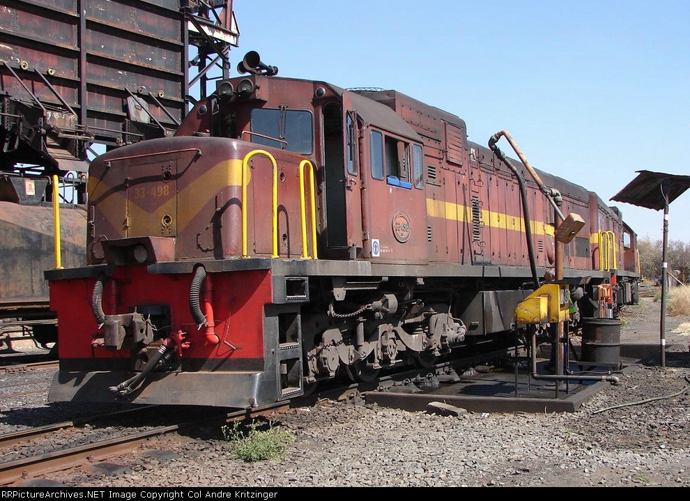 SAR Class 33-400 33-498