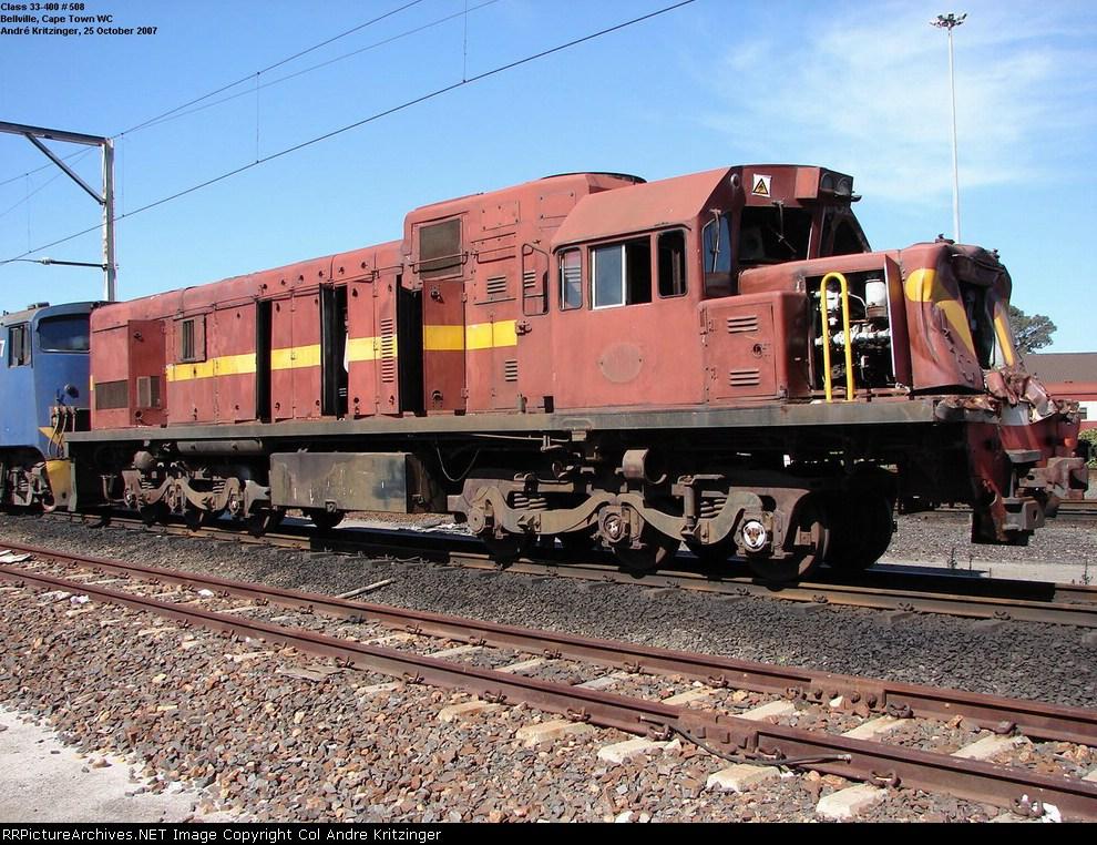 SAR Class 33-400 33-508