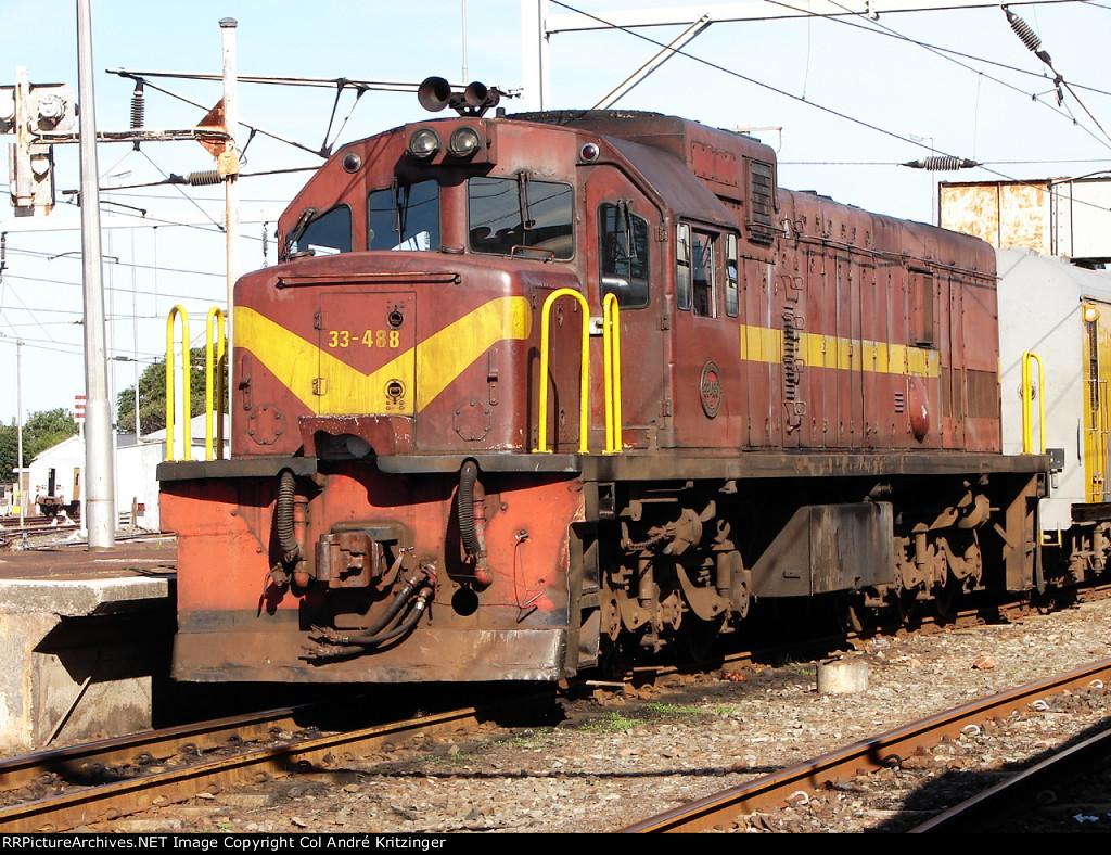 SAR Class 33-400 33-488