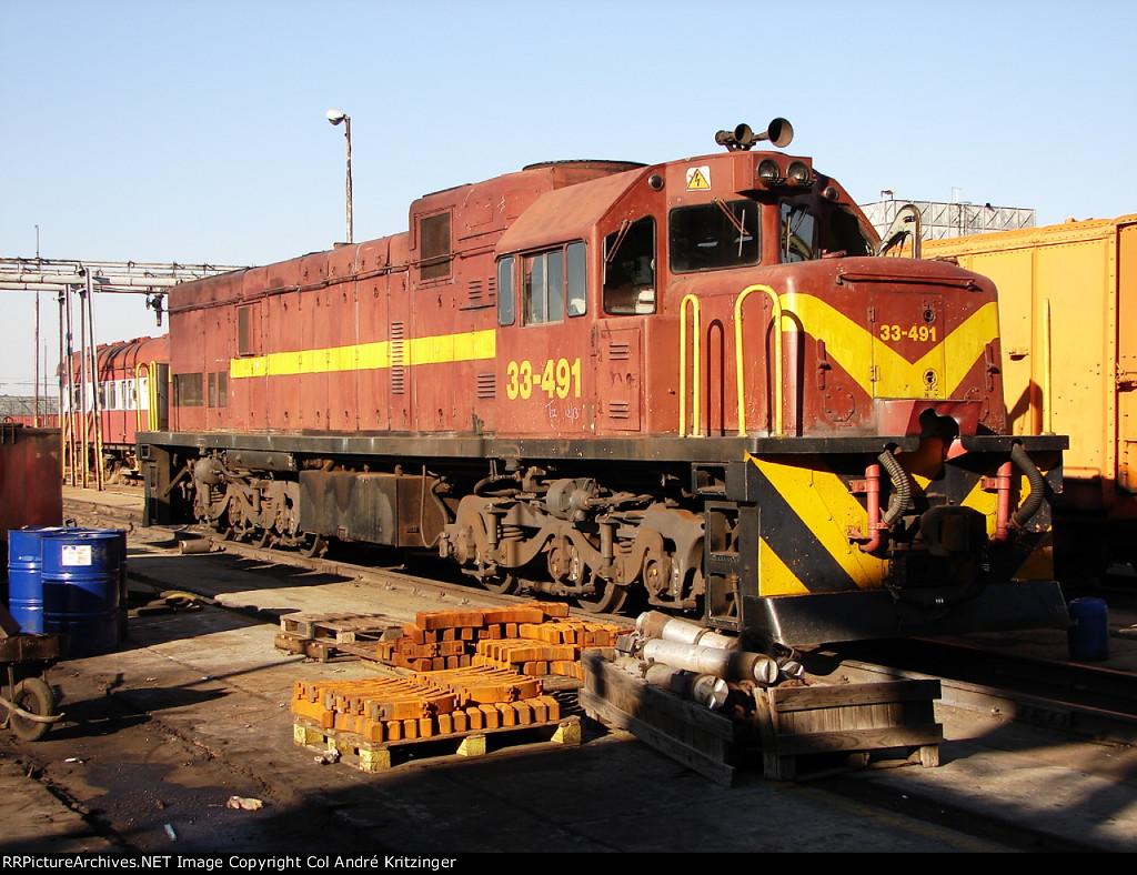 SAR Class 33-400 33-491