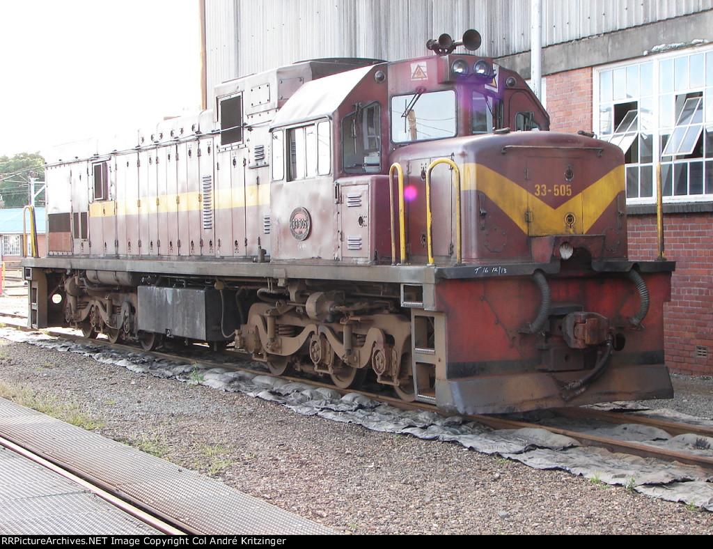 SAR Class 33-400 33-505