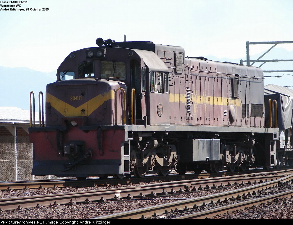 SAR Class 33-400 33-511
