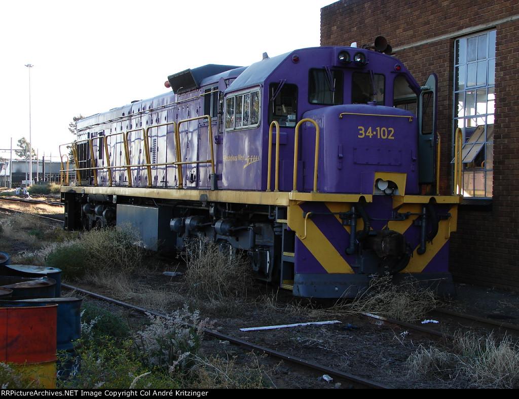 SAR Class 34-000 34-102