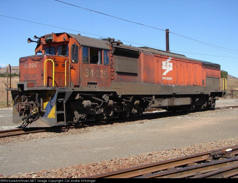 SAR Class 34-200 34-226