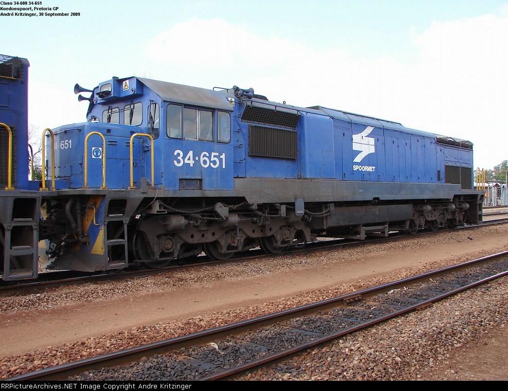 SAR Class 34-600 34-651