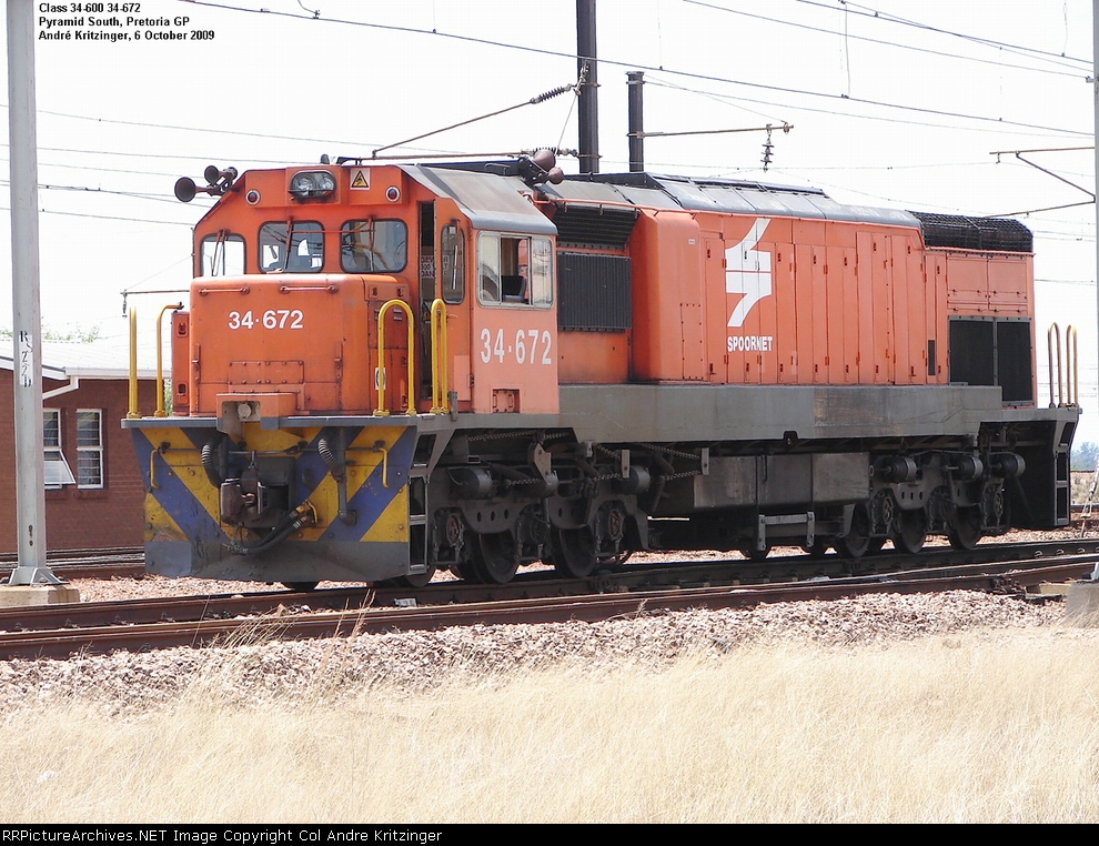SAR Class 34-600 34-672