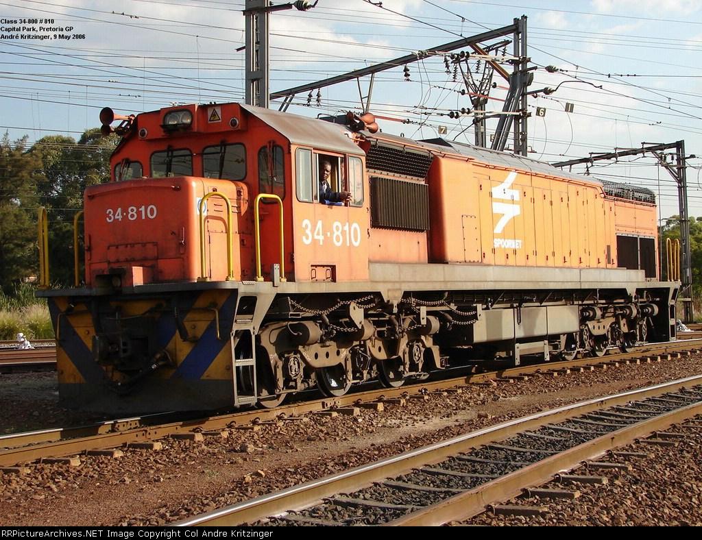 SAR Class 34-800 34-810