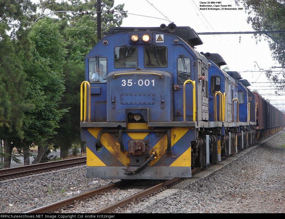 SAR Class 35-000 35-001