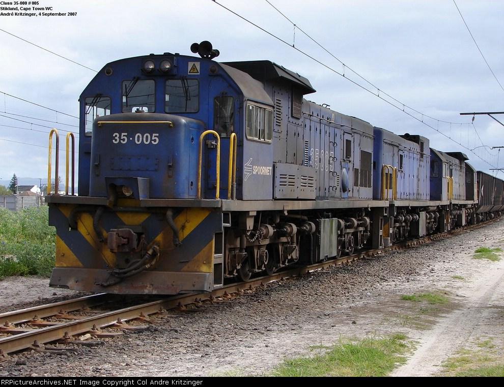 SAR Class 35-000 35-005