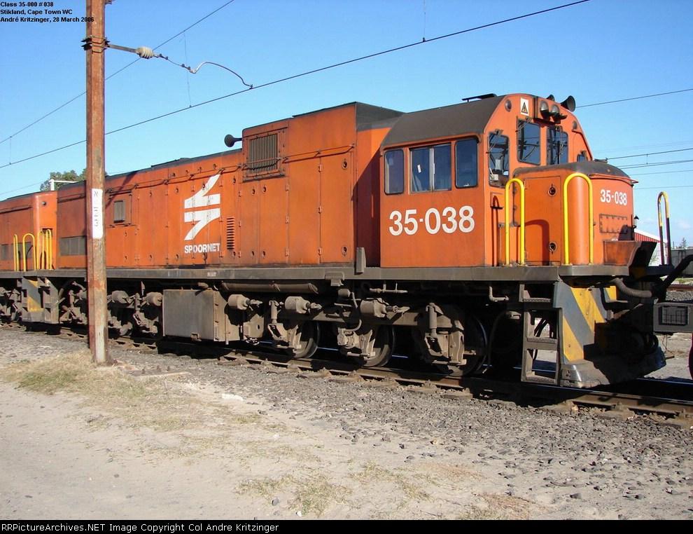 SAR Class 35-000 35-038
