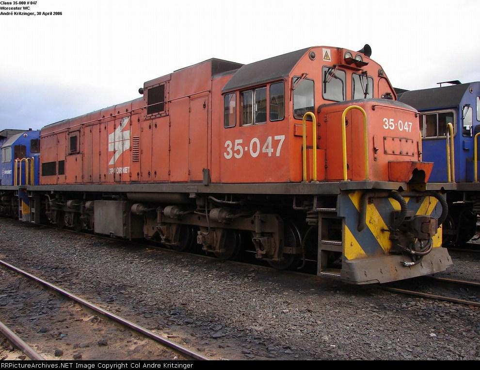 SAR Class 35-000 35-047
