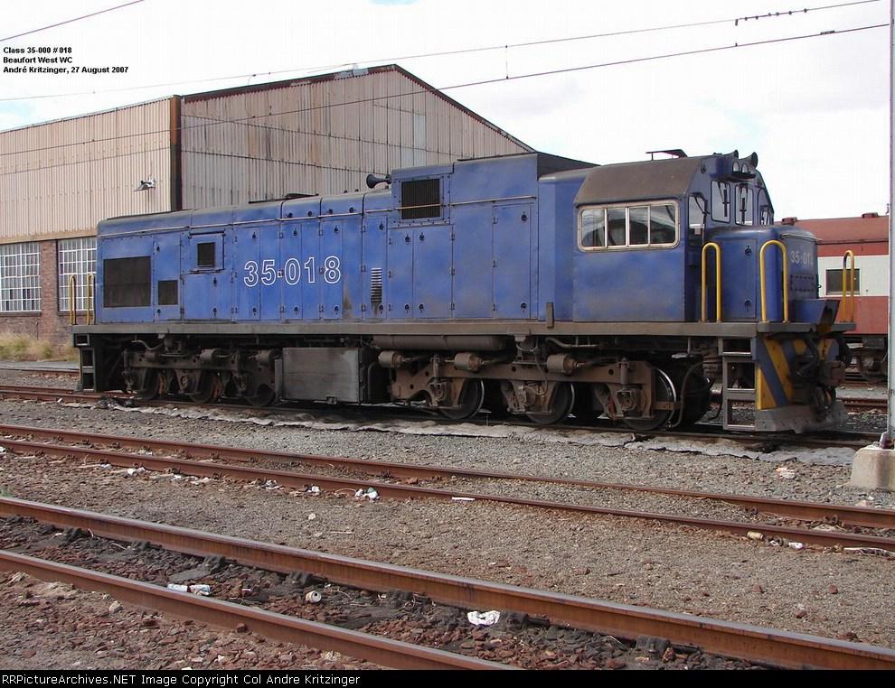 SAR Class 35-000 35-018