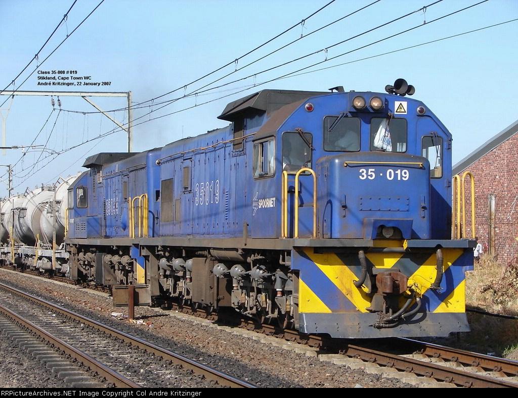 SAR Class 35-000 35-019