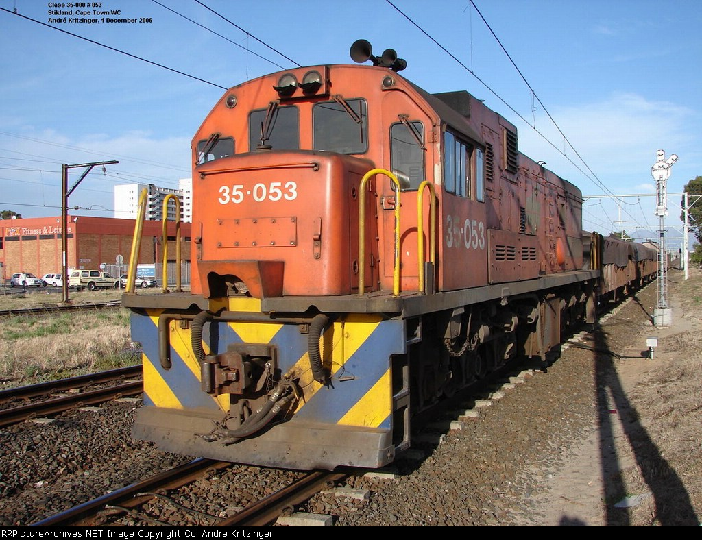 SAR Class 35-000 35-053