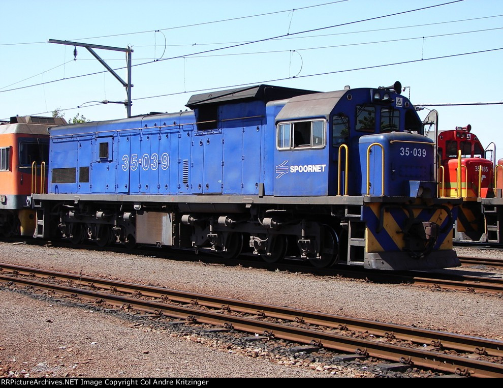 SAR Class 35-000 35-039