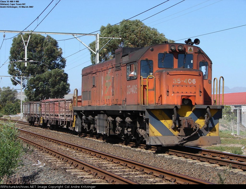 SAR Class 35-400 35-406