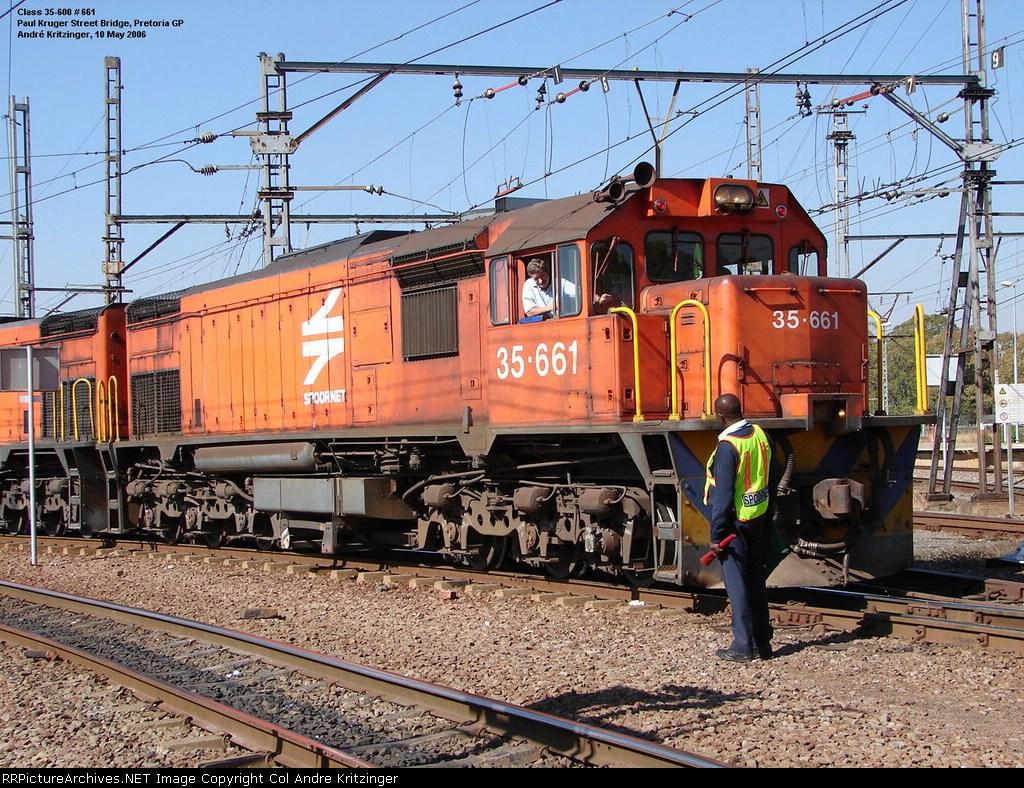 SAR Class 35-600 35-661