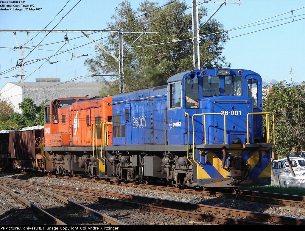 SAR Class 36-000 36-001