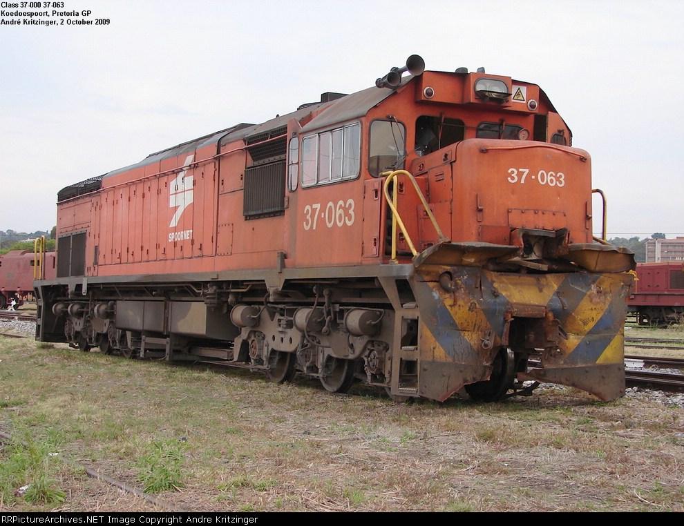 SAR Class 37-000 37-063
