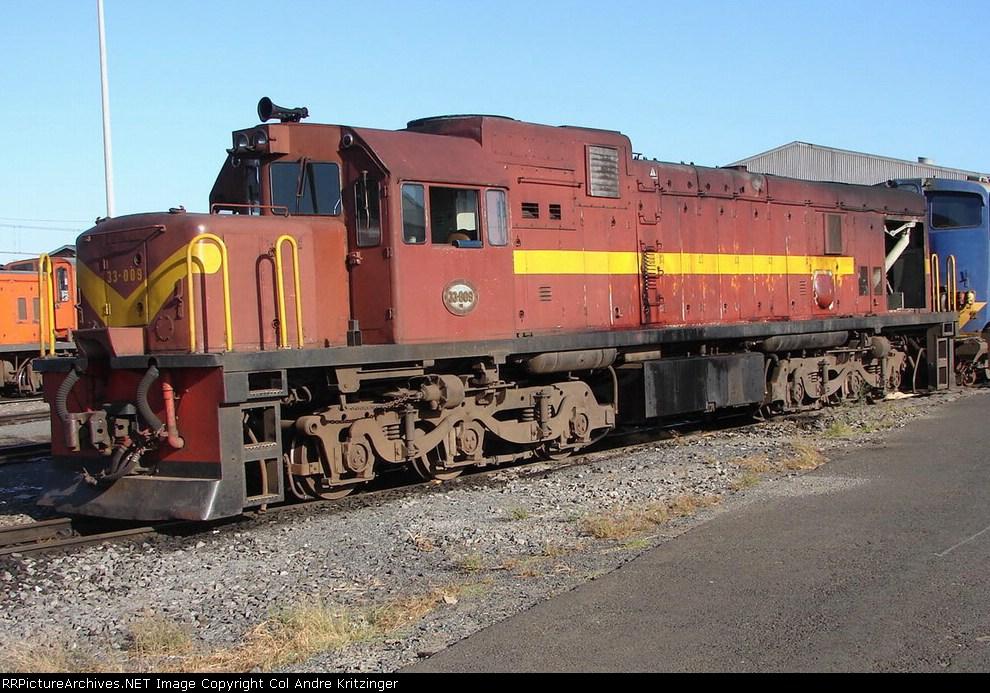 SAR Class 33-000 33-009