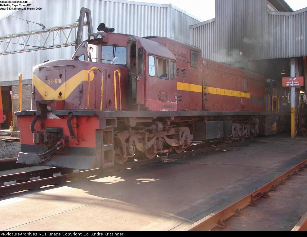 SAR Class 33-400 33-510