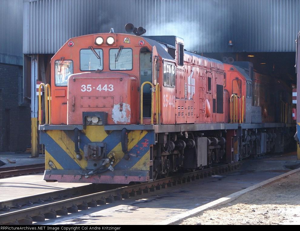 SAR Class 35-400 35-443