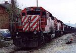 CP 5663 leads this coal train