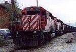 CP 5663 leads this coal train
