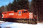CP 5682 with Pac-Man paint