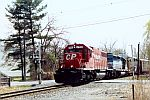 CP 779 leads this CP Freight