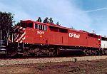 CP Rail SD40-2F!