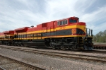 KCS 3997, EMD SD70ACe, on the BNSF