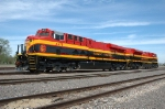 KCSM 4679 - KCS 3997, on the BNSF