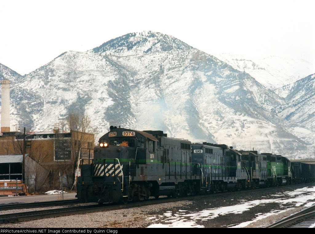 GWRX 1074/1045/1073/BN 2163 Provo, Utah, December 27, 1997.