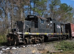Former IC 8396 tied up