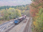 Waiting patiently to enter Enola off the Buffalo Line with some nice fall colors.