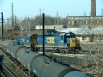 CSX 4406 and 1128