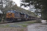 CSXT U148-25 LAKX empties Northbound