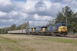CSXT T080-28 Southbound Coal Loads