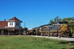 CSX Coal train Empties NB at Ocala Depot